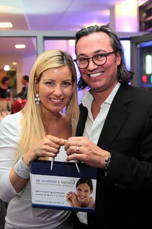 Susanka Bersin (bigFM) und Dr. Thomas Schröder